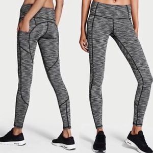 VS Grey & Black Knock-out Leggings with POCKETS!